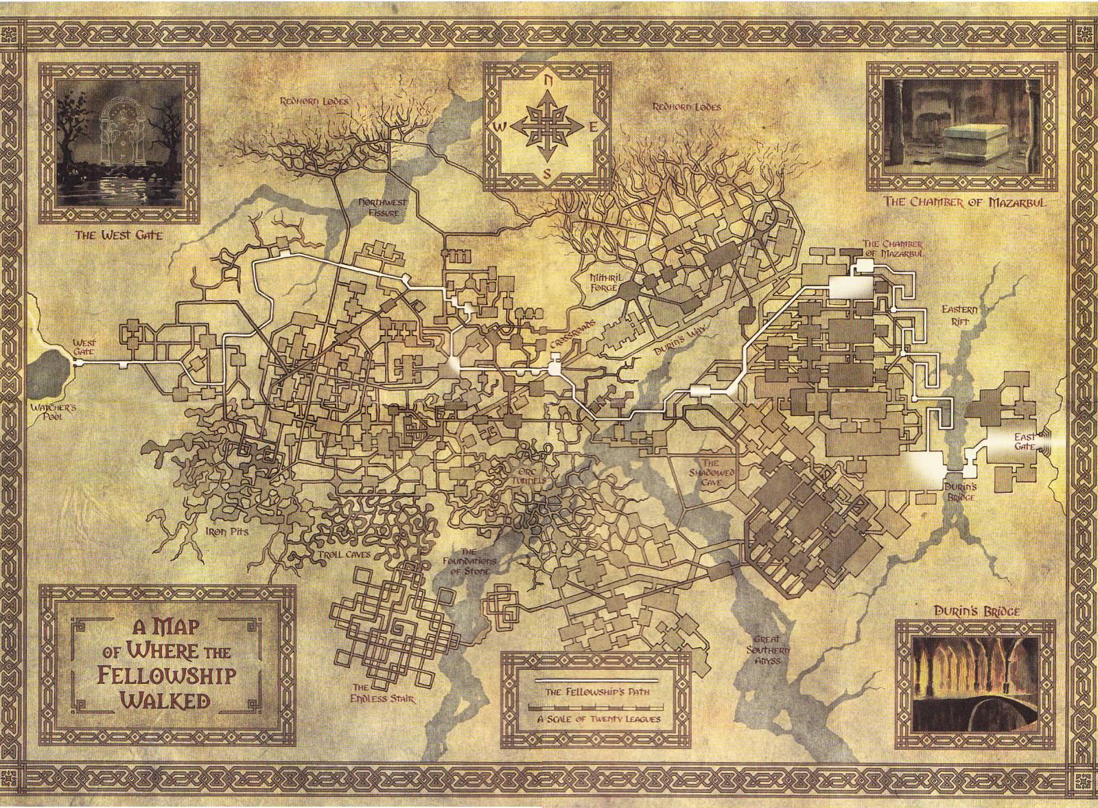 Minecraft Карта Мория